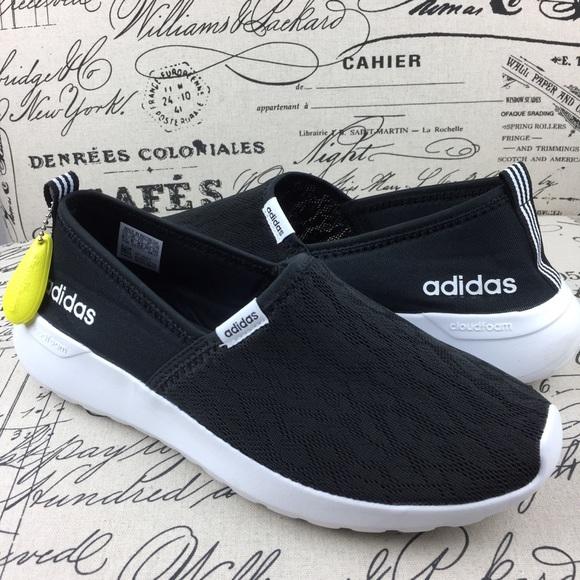 le adidas cloudfoam neo lite racer scarpe nere poshmark